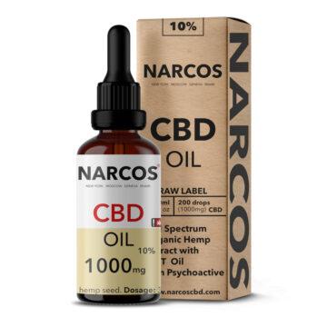 CBD Öl, 10%, Tropfen, 10 ml, Narcos
